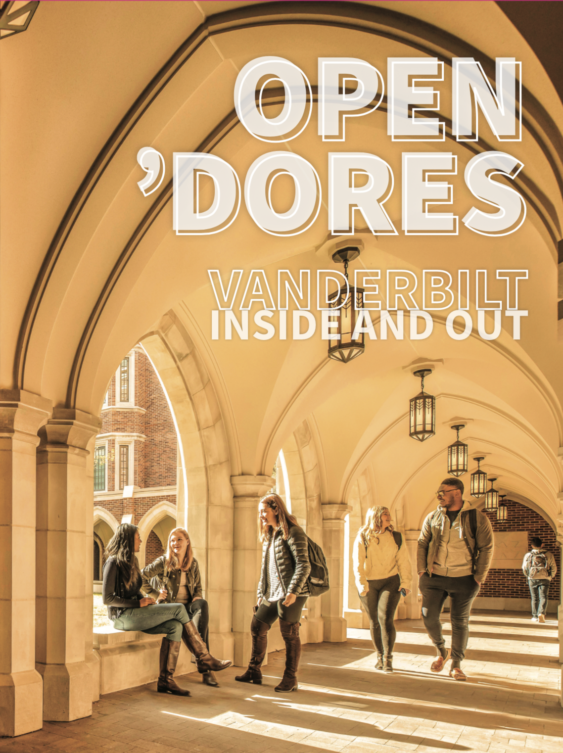 Front cover for the 2019 Open 'Dores booklet