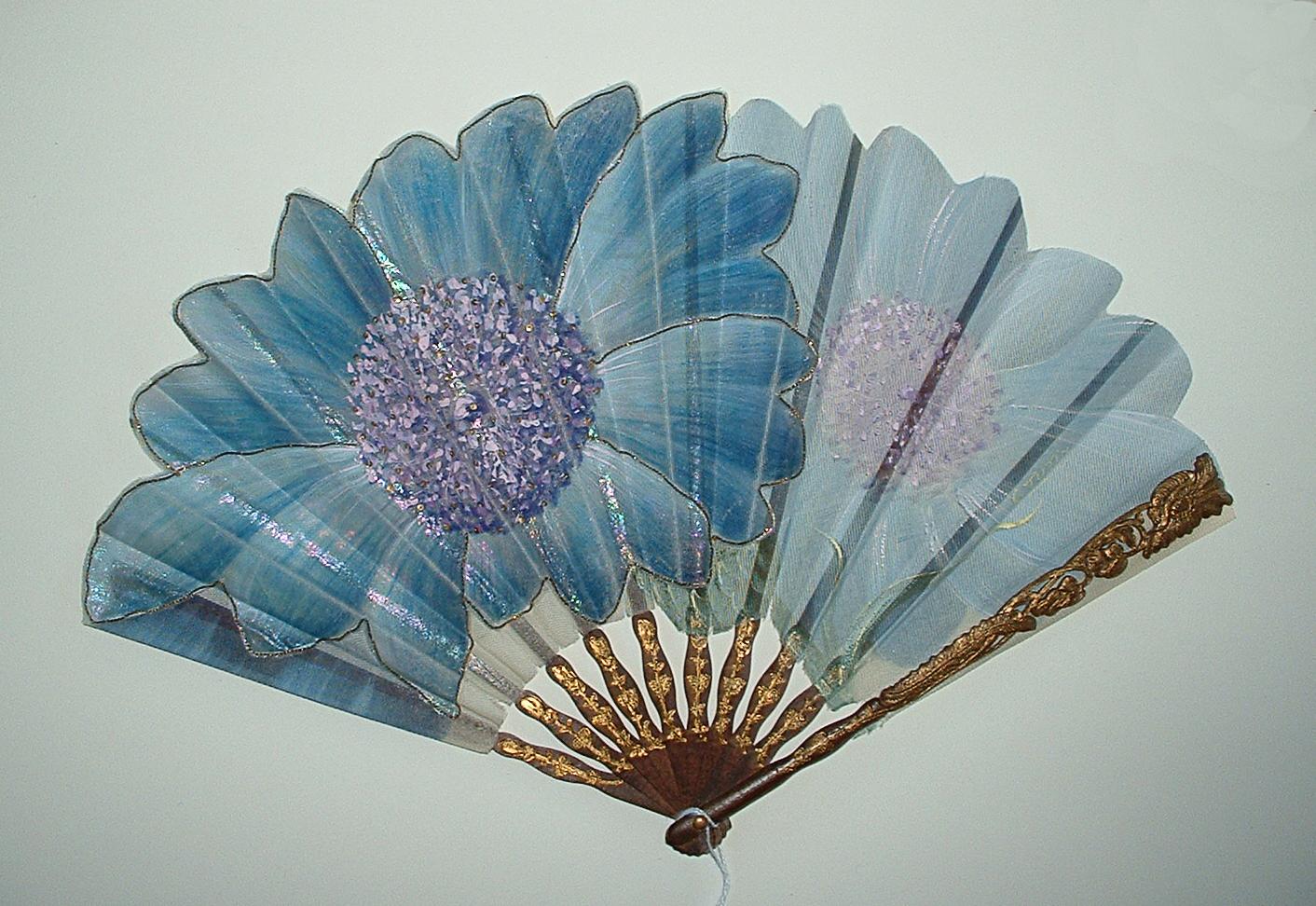 Floral Motif Fan