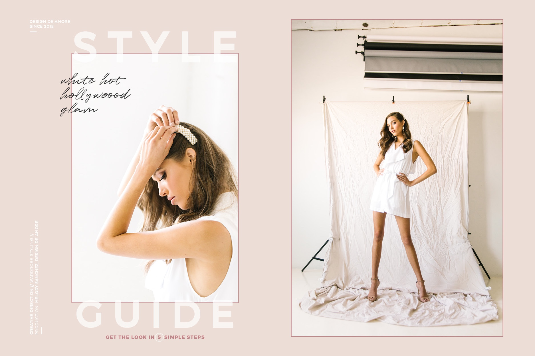 How to create a styled look in 5 easy steps by Melody Sanchez, Design De Amore