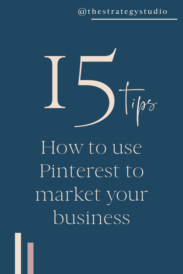 15 Pinterest Marketing Tips
