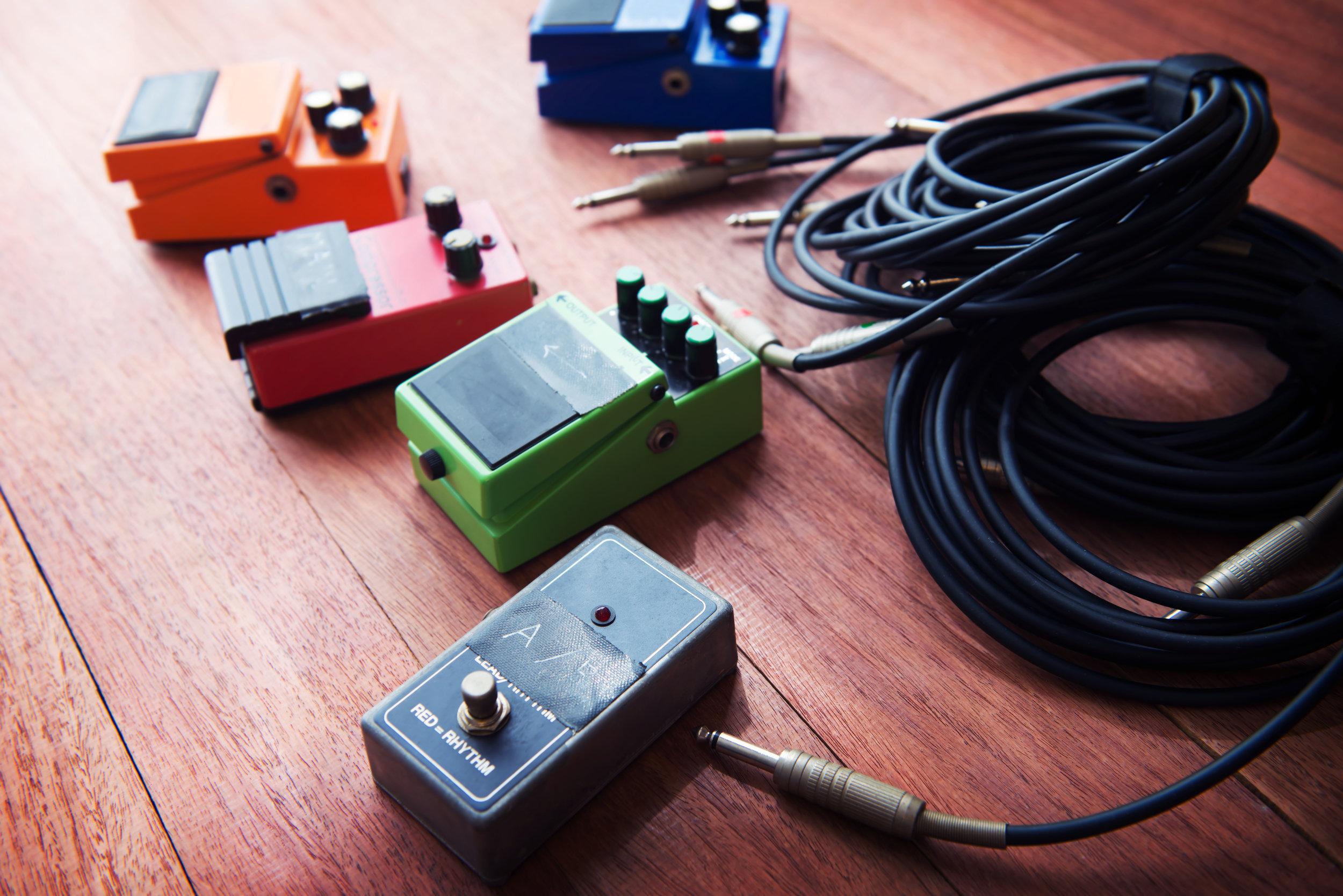 guitar pedal repair