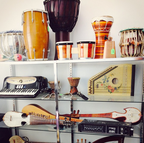 world percussion and strings
