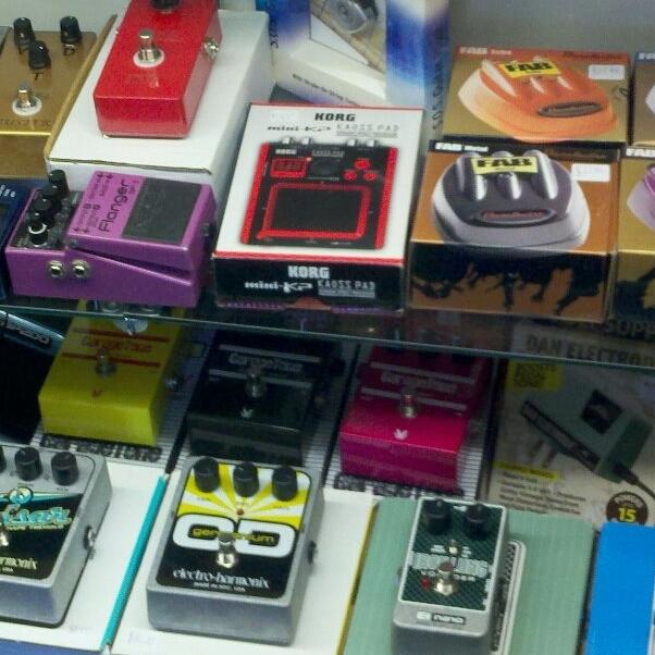 vintage guitar pedals