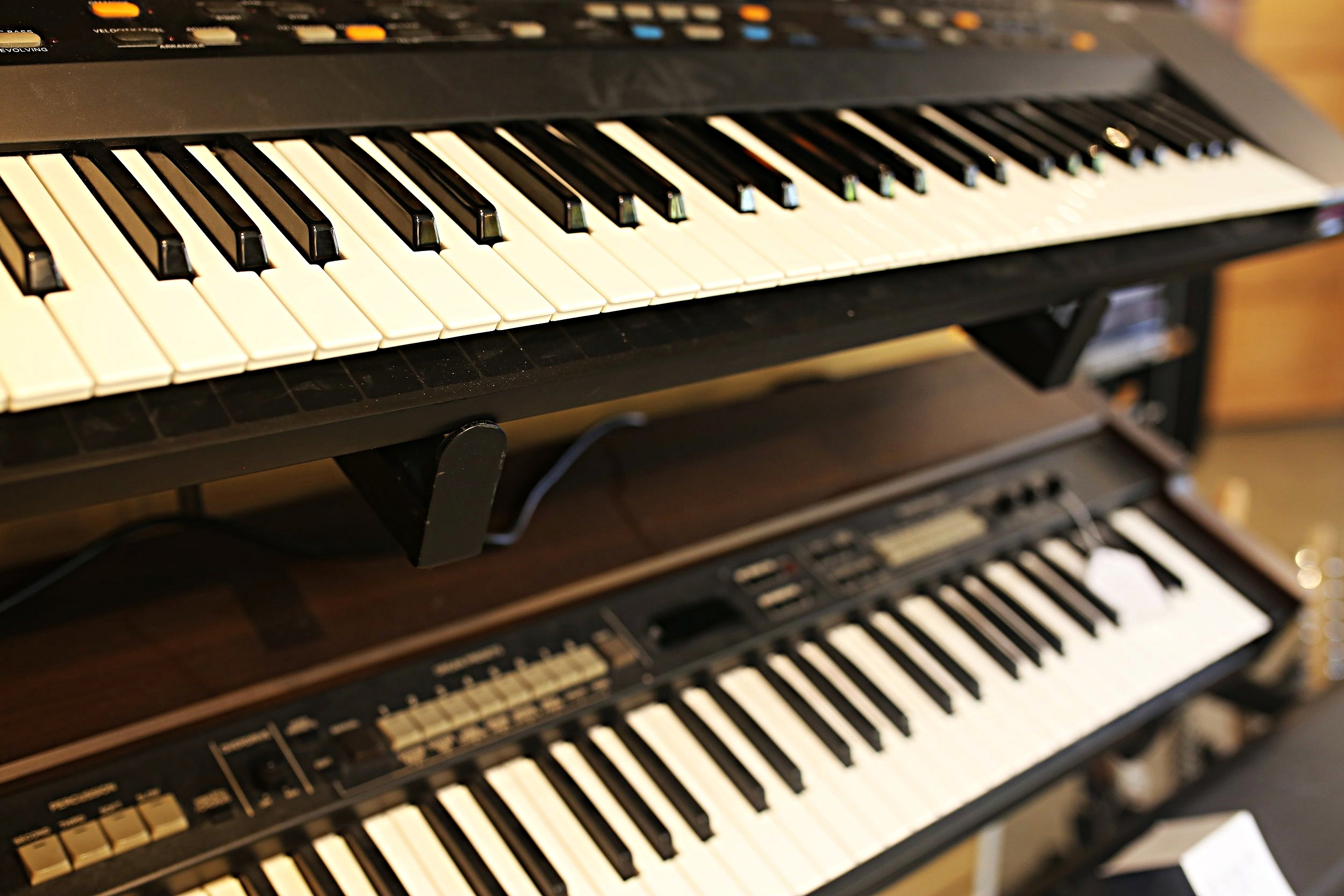 synthesizers keyboards
