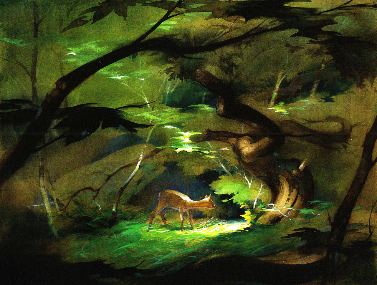 Bambi in Pastel by Tyrus Wong
