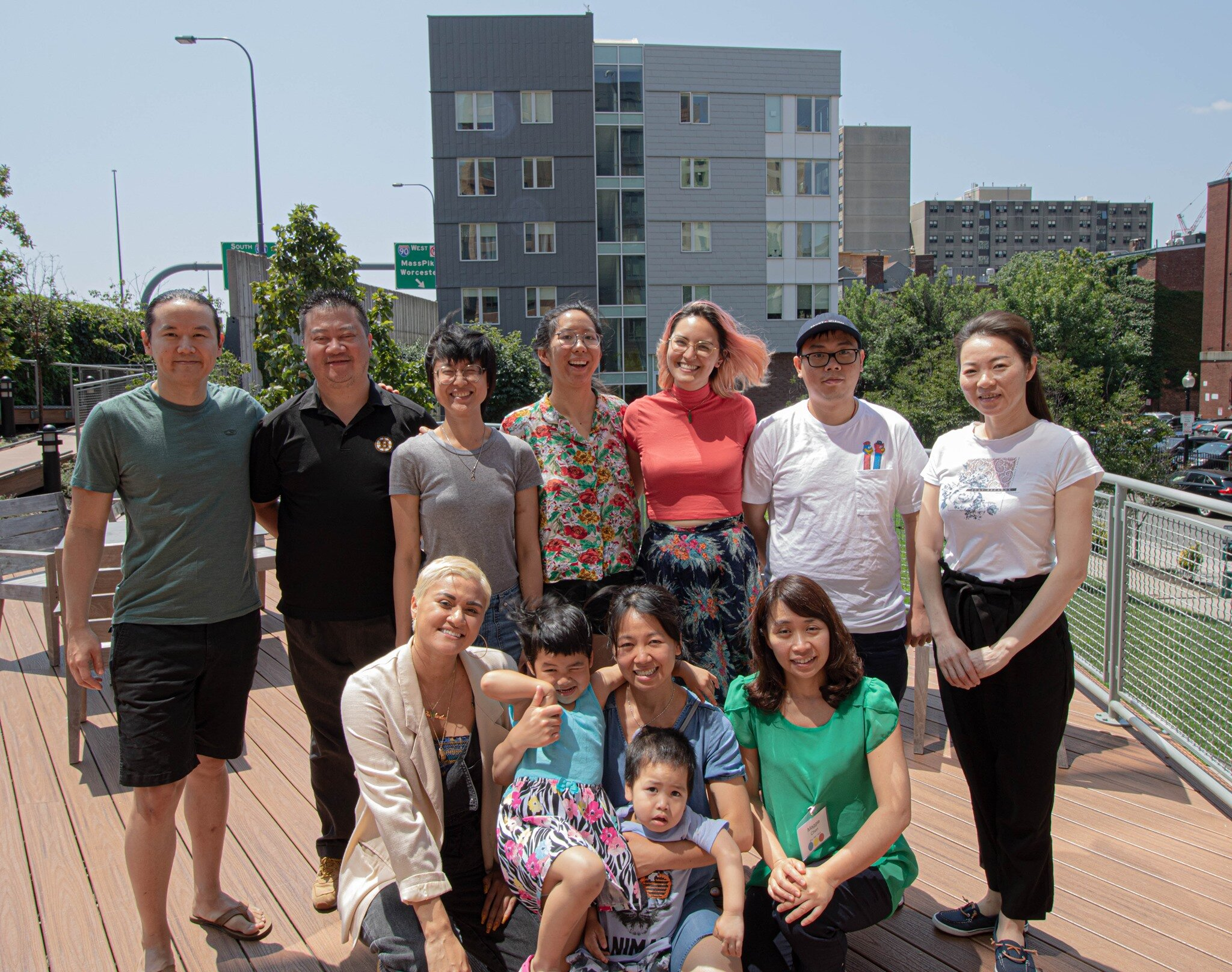 Residence Lab cohort of artists and Chinatown residents