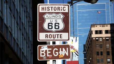 Fun Fact: Chicago, Illinois is the start of Route 66