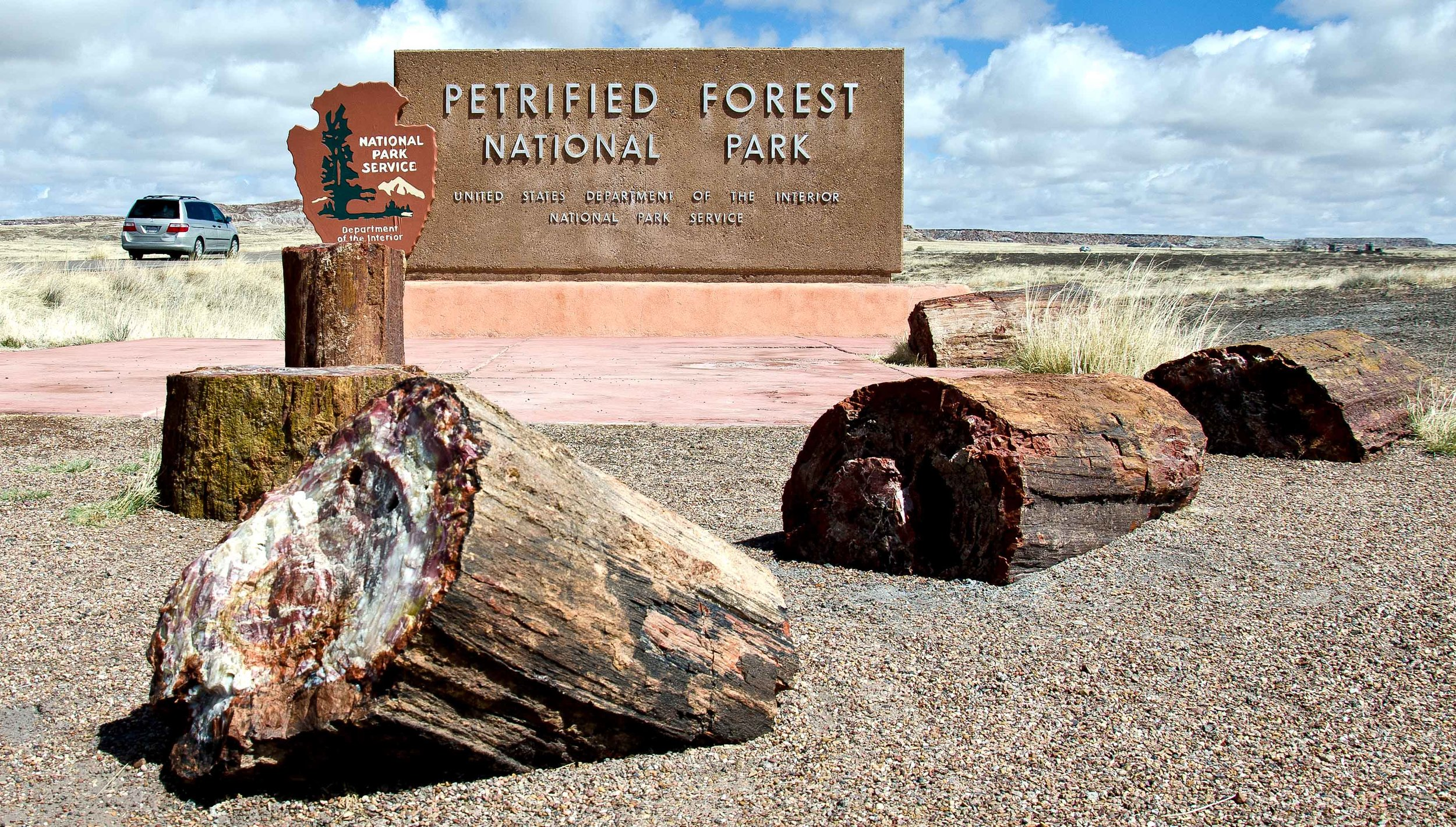Fun Fact: The Petrified Forest is the only National Park in the U.S. to include and protect a section of Route 66.