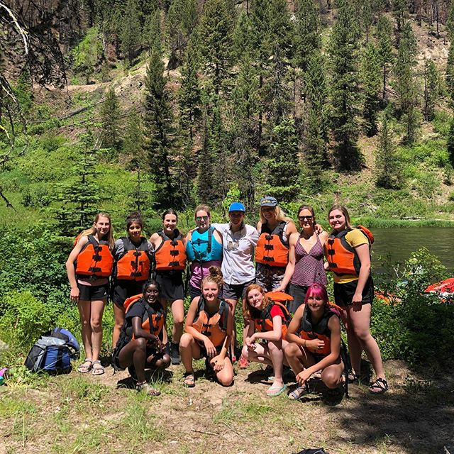 On Saturday I got to be an adventure mentor for @wildheartsidaho with three other amazing women and led a rafting trip with 8 teen girls down the Cabarton in partnership with @cascaderaft .  It was a little nerve racking, being responsible that many kids at once but soooo worth the experience.  There are many things in life that I'm passionate about but this organization is one of the most important to me. We asked the raft guides (both women) about their experiences working in a male dominated industry. They had some truly harrowing stories and gave great advice on persevering and sticking up for yourself. Excellent examples of strong women.  We also talked about self reflection and engaged in a guided meditation/grounding activity that was truly splendid. Alone on the banks of the river with only the sound of the water, wind and birds to focus on, it was one of the most peaceful moments I've ever experienced and to share that with so many teen girls was incredible.  The whole point of this organization is to help build, empower and support strong women leaders through teen focused outdoor activities. It creates a safe space for them to try new things, commune with other girls, take chances, explore their own limits and find their voice. I am so grateful to be a part of such an an amazing endeavor!! If you want to get involved or know some teen girls who would love to join please check out @wildheartsidaho for upcoming adventures and opportunities.  If you are a local business or outdoor company I would encourage you to consider becoming a sponsor for WHI. Outdoor equipment is always needed for girls to make sure to keep all adventures free for all and donations and marketing are always welcome. This is an organization that is making a difference in our local and outdoor community!!
