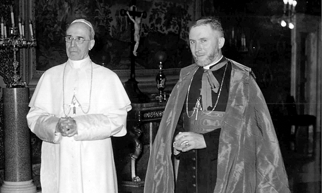 Pope Pius XII and Archbishop.png