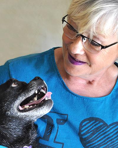 Sue Showers, Dog Animal Coordinator