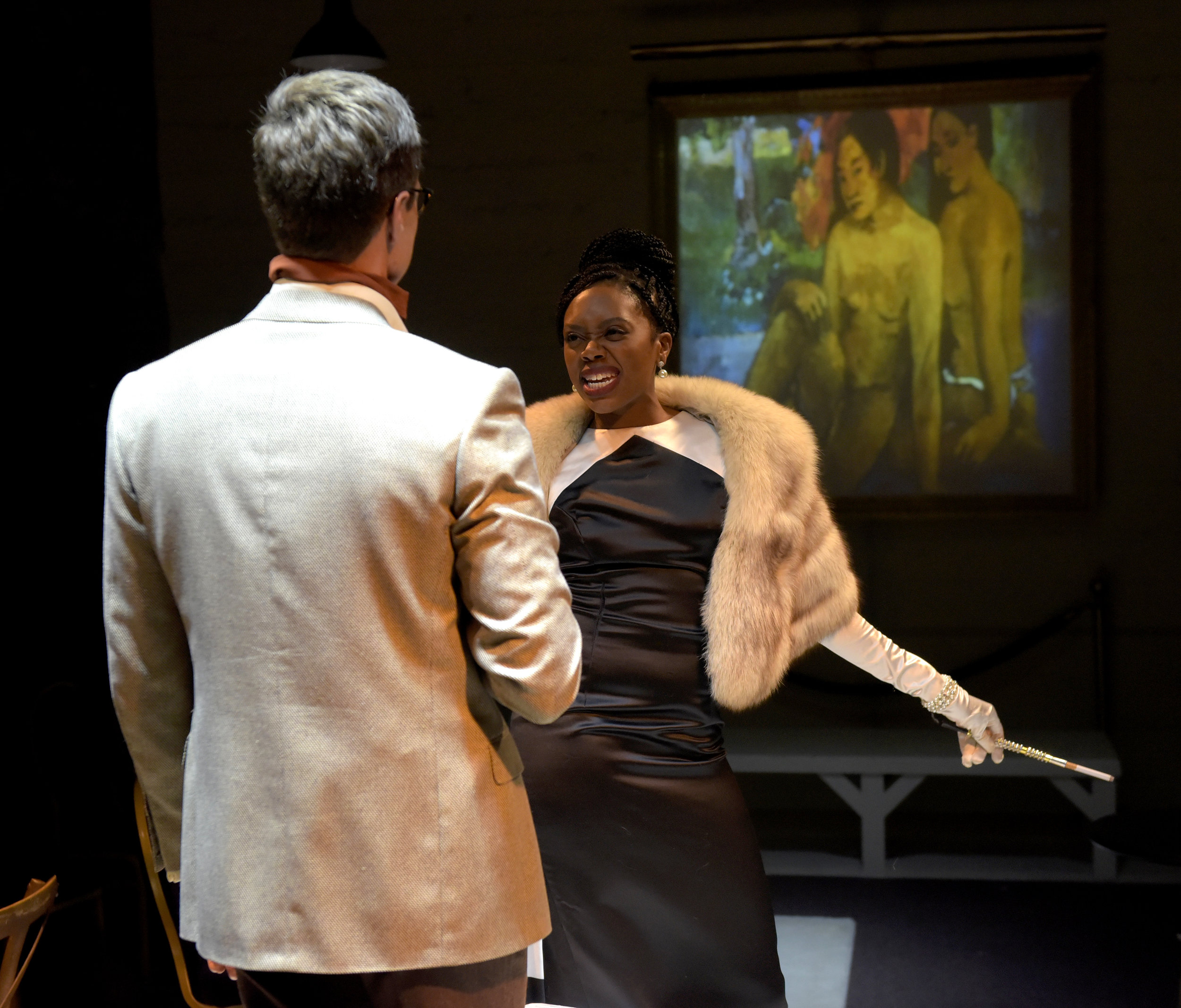 Akilah A. Walker in 'Through With Love' a musical Revue  Photo by Jay Yamada