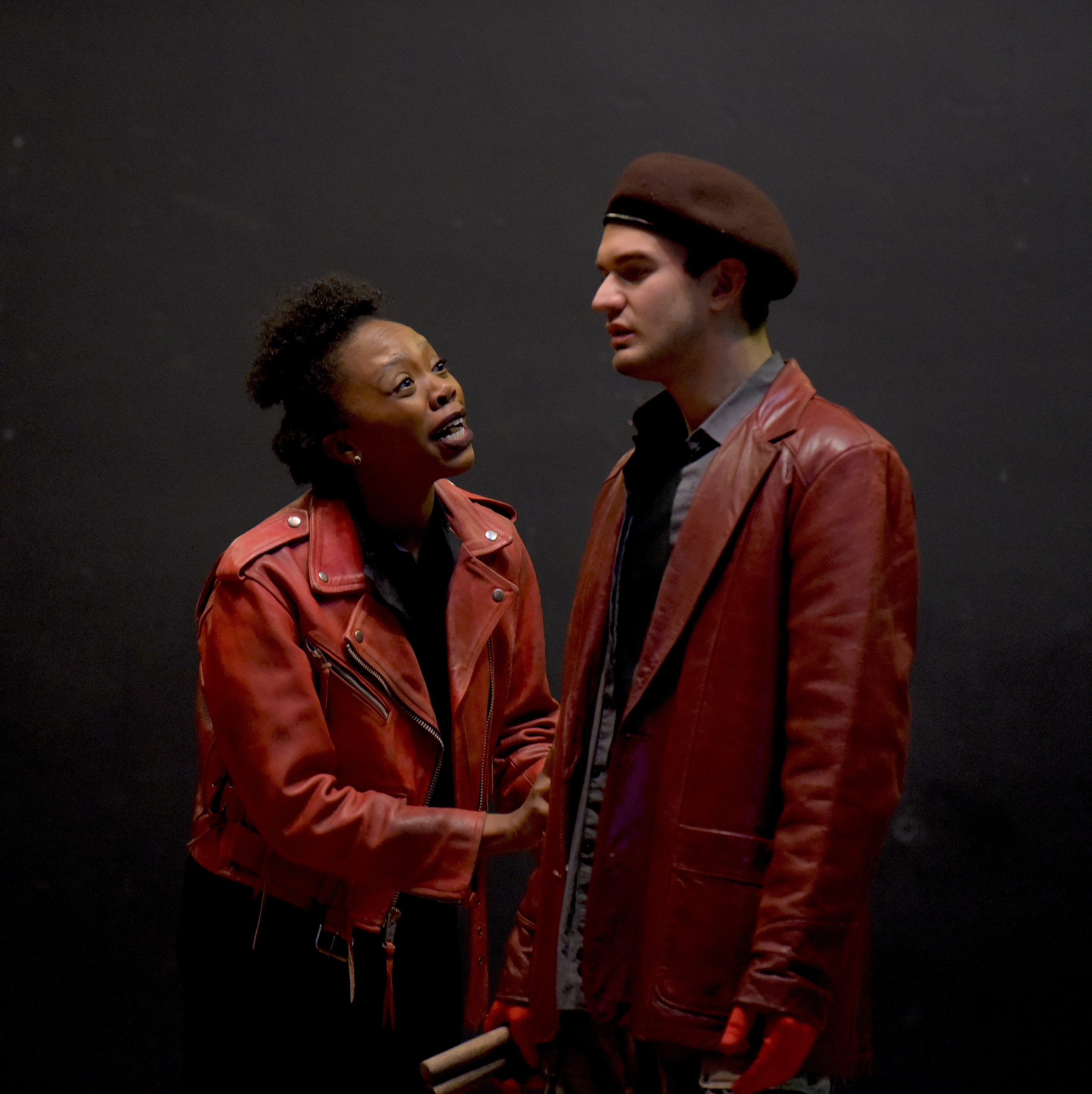 Akilah A. Walker as 'Lady Macbeth' in Macbeth  Photo by Alessandra Mello