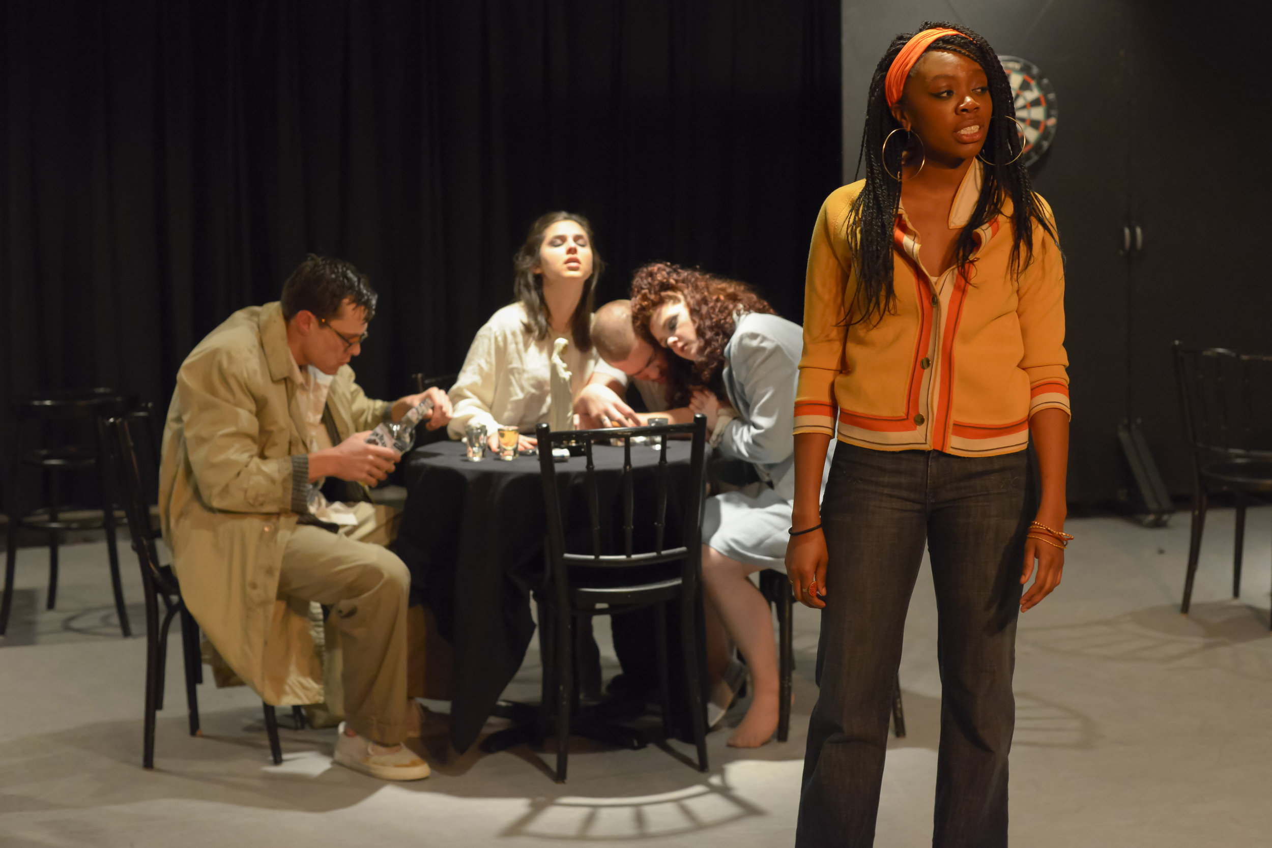 Akilah Walker as 'Leona' in 'Confessional'  Photo by Jay Yamada