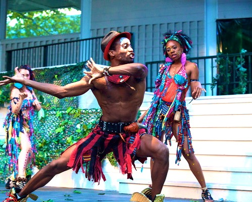 Akilah A. Walker in 'A Midsummer Nights Dream'  Photo by Lelund Durond