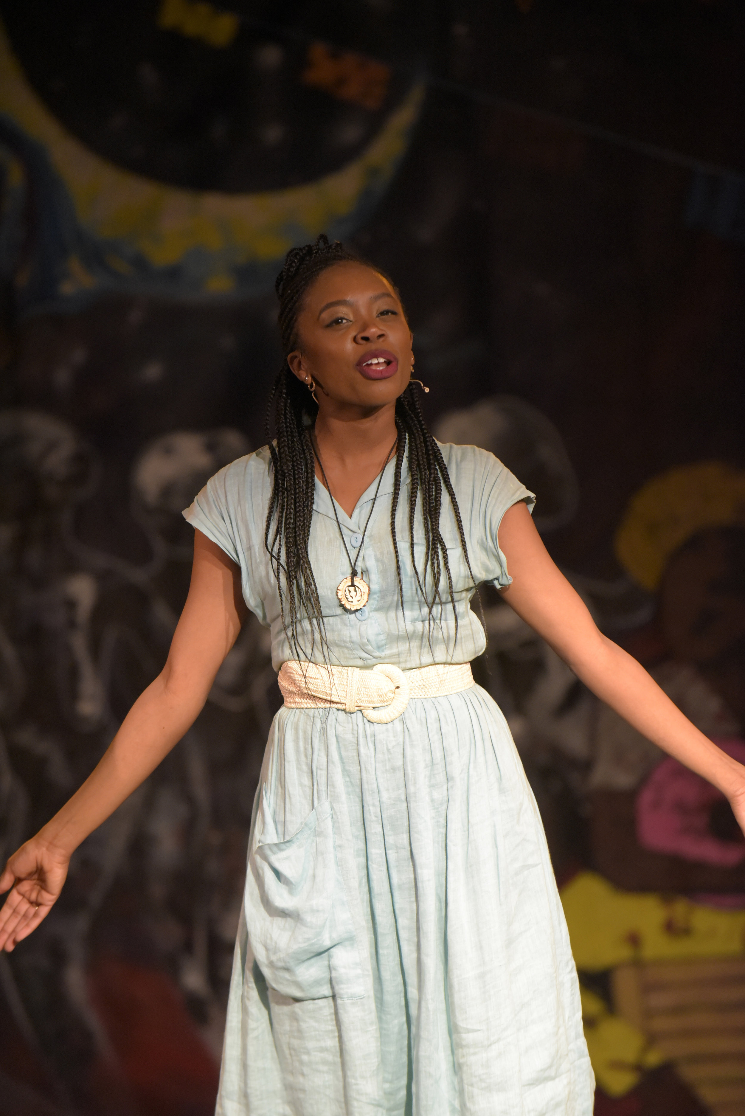 Akilah A. Walker as 'Eurydice' in 'Black Orpheus