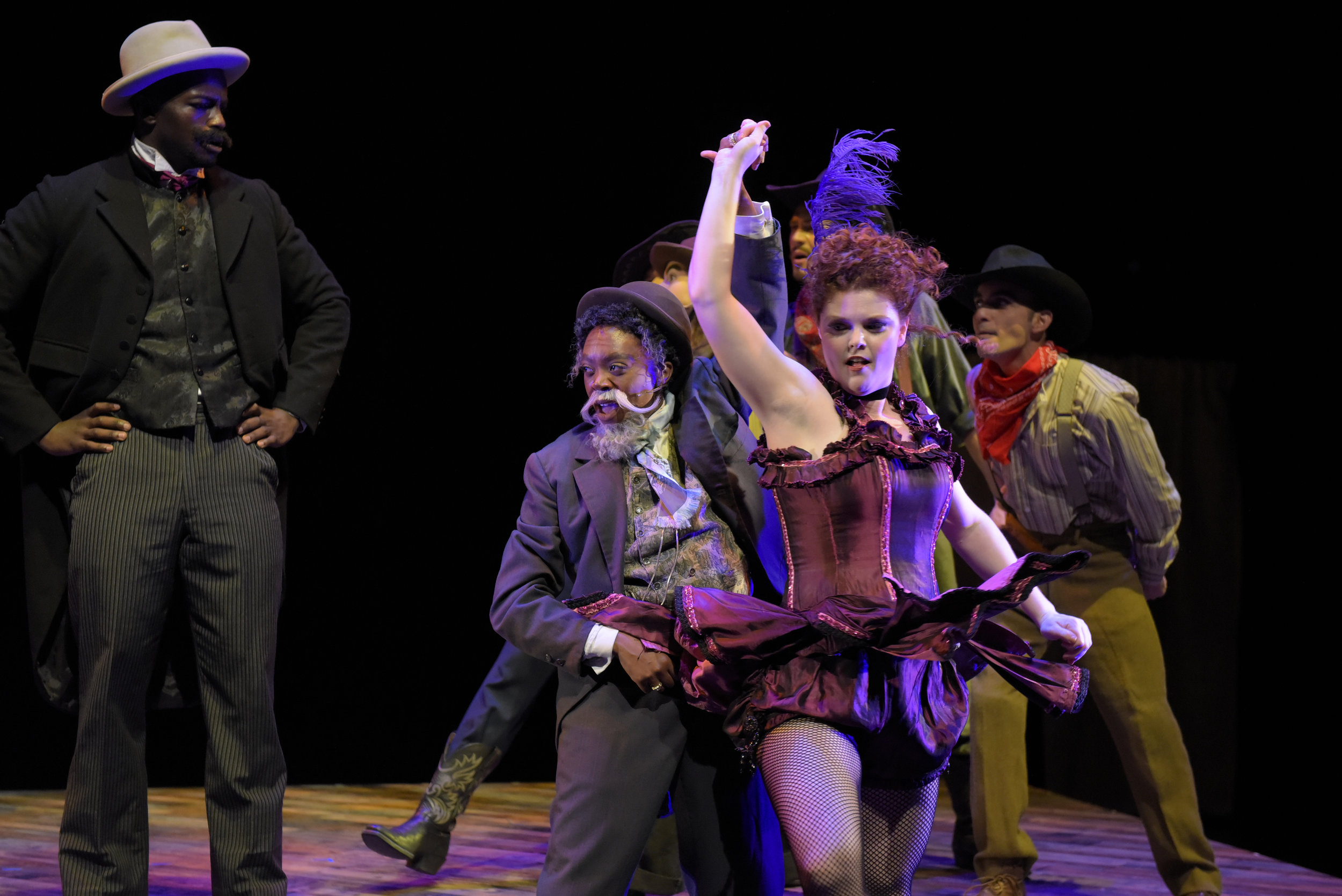 Akilah A. Walker as 'Gremio' in 'The Taming of the Shrew'