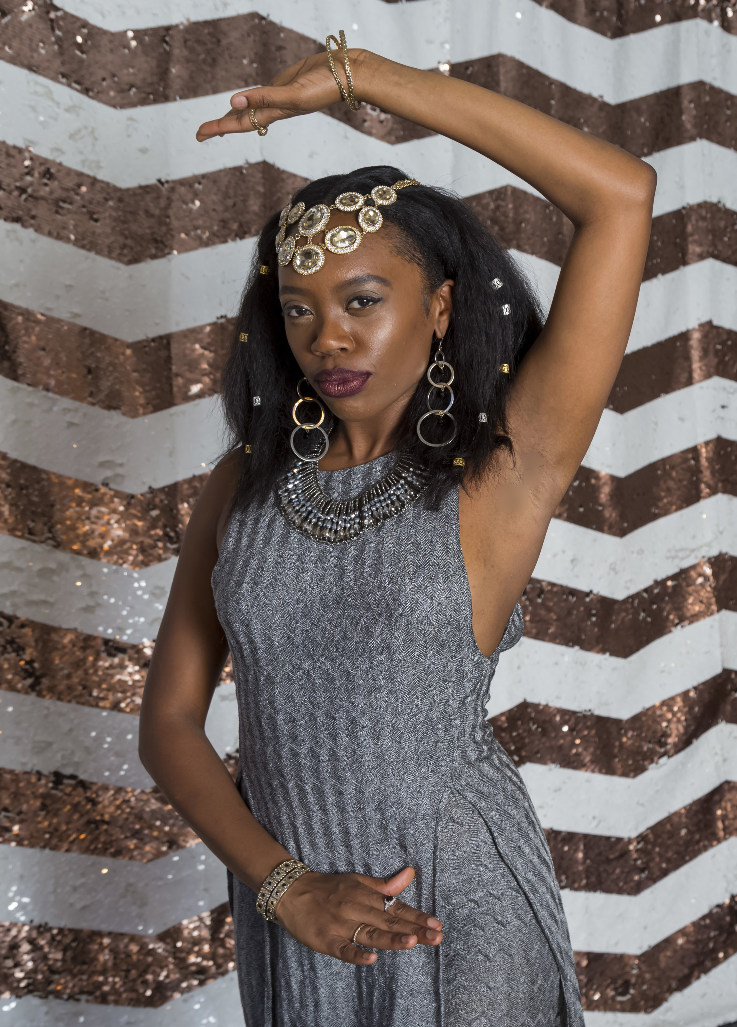 Akilah Walker as 'Cleopatra' from 'Antony And Cleopatra' by William Shakespeare  Photo by Haley Seppa