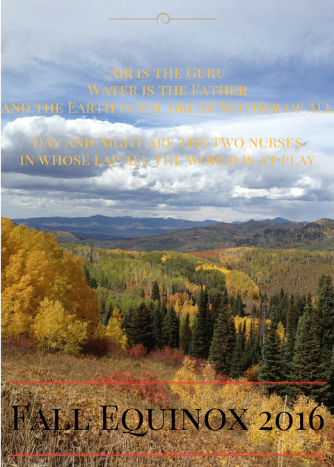 Colorado yoga retreat for fall equinox