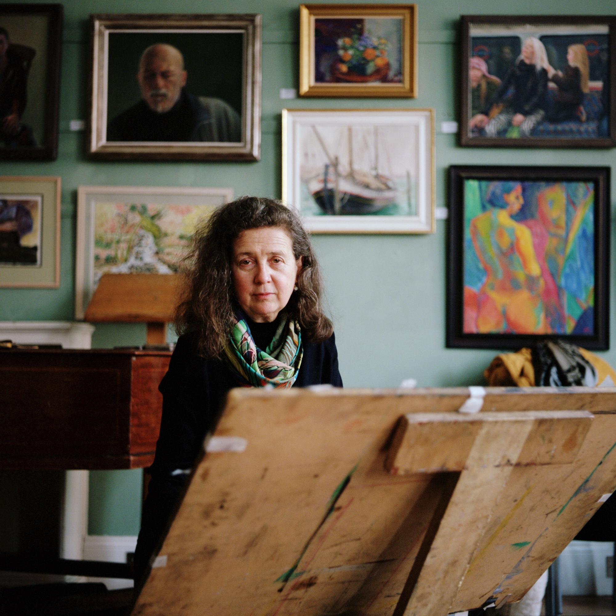 11 Olivia in the Studio_ Lauren Hare Copyright.jpg
