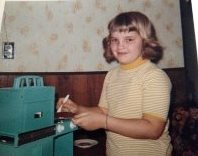 My Easy Bake Oven, circa 1970 (now you know where I get it from)