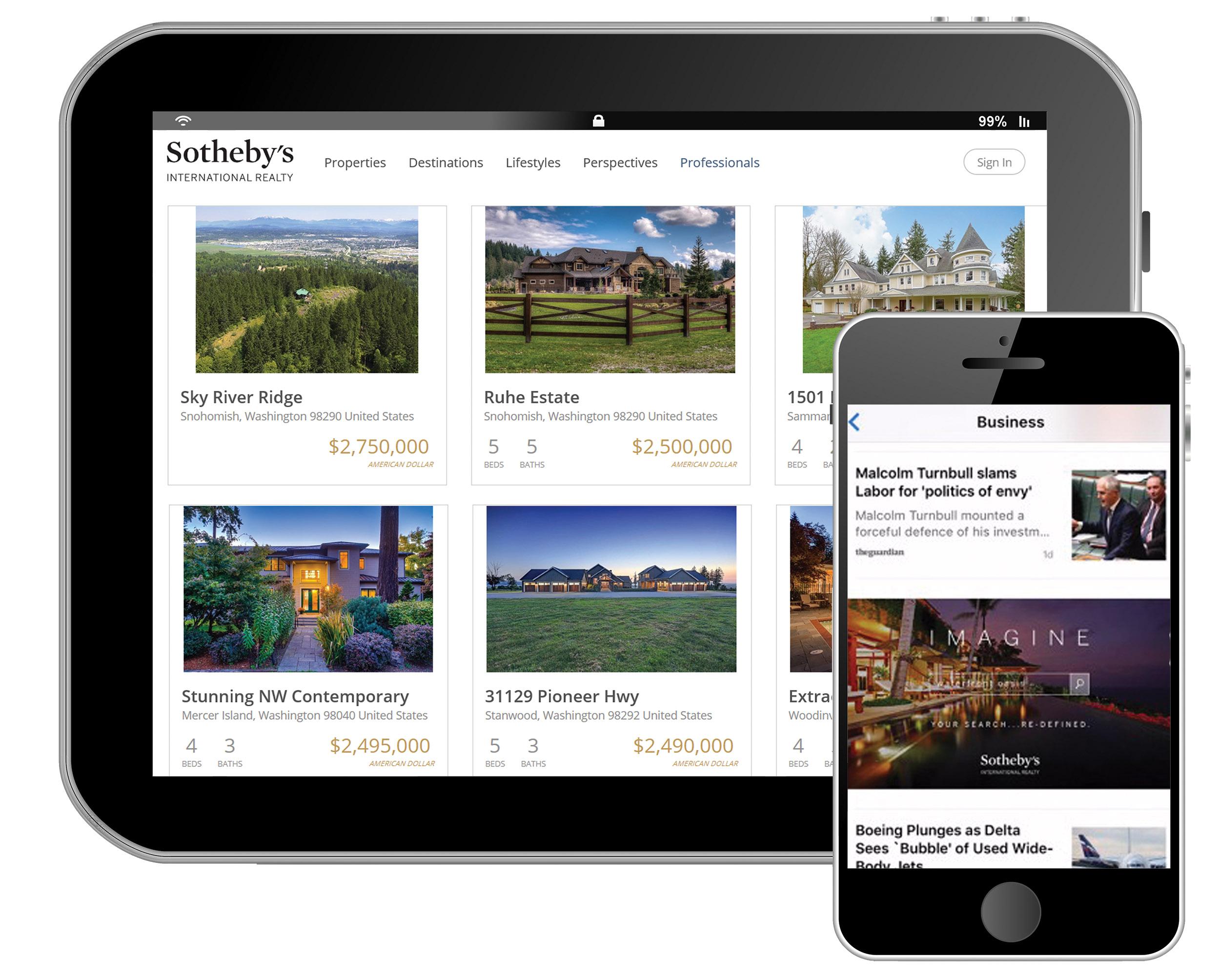SothebysRealty.com - Global Real Estate Website
