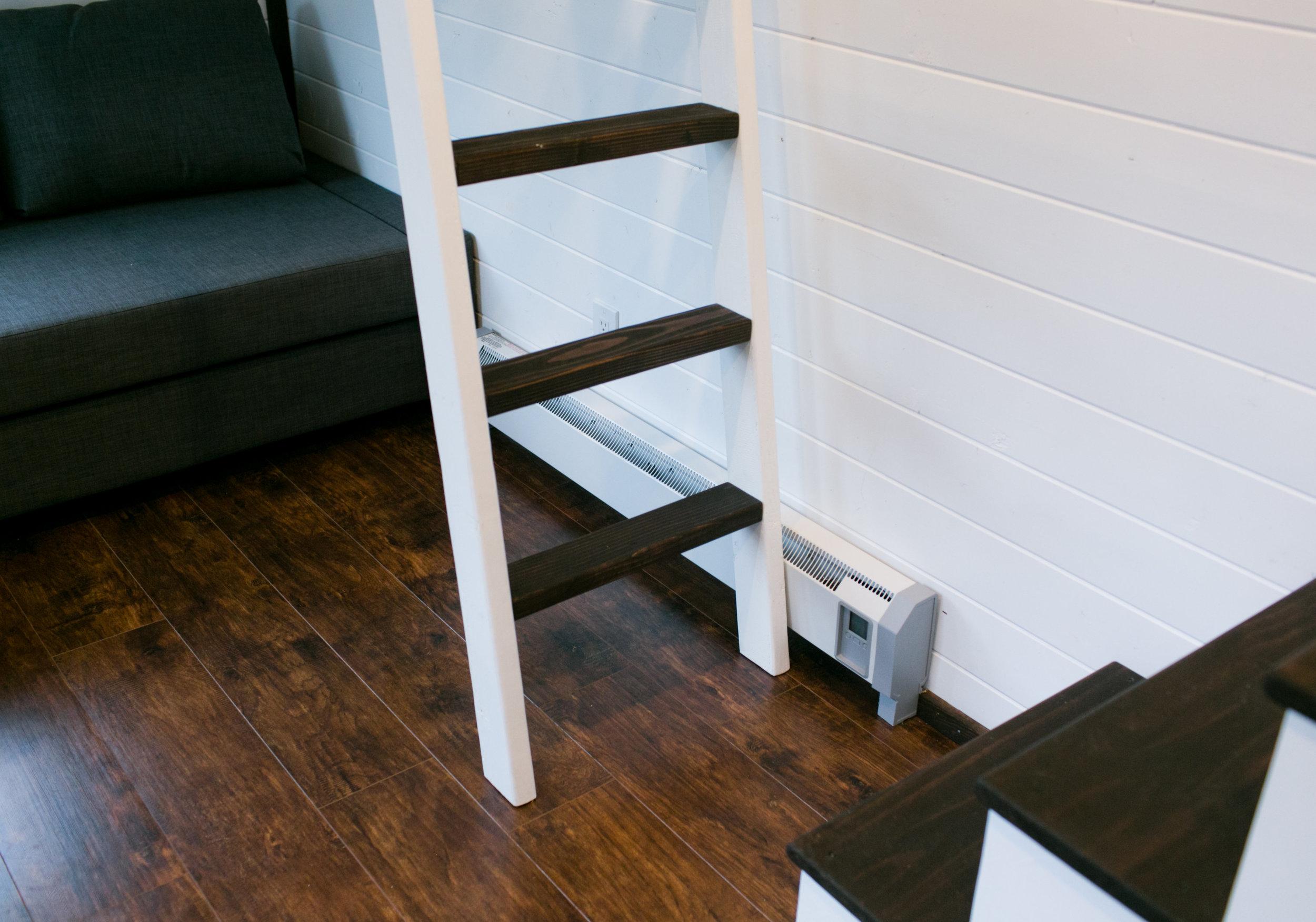 Matching ladder to 2nd loft