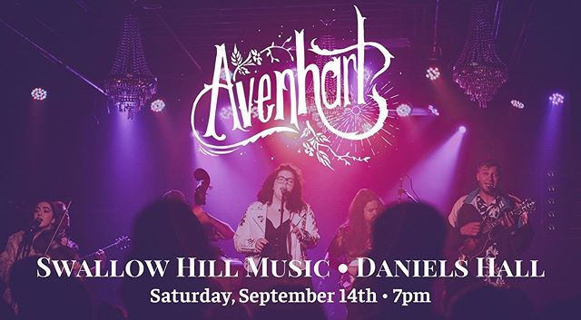We can't believe we have our very own night at Daniels Hall at Swallow Hill Music this fall!!! More details to come but for now SAVE 👏🏼THIS 👏🏼 DATE👏🏼 @swallowhillmusic 💕