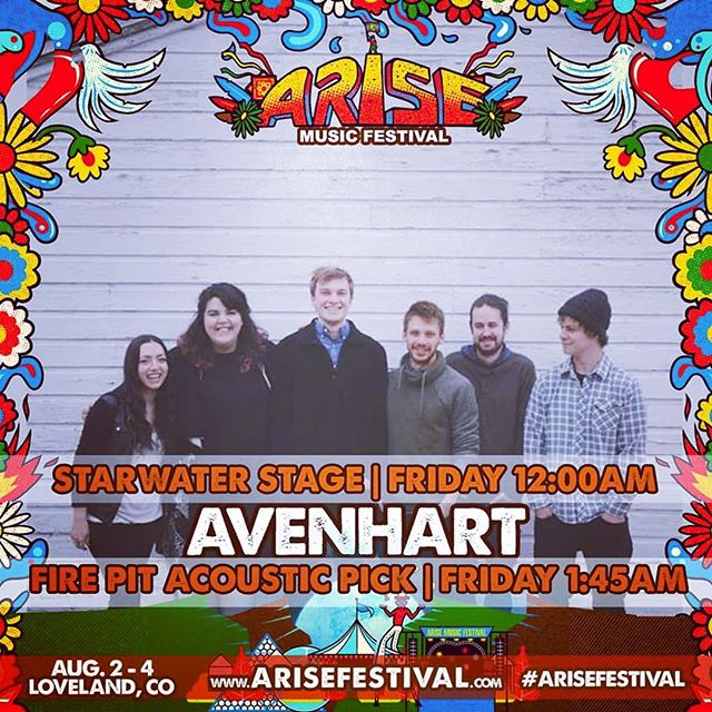 Getting stoked for @arisefestival this weekend!!! We are on at MIDNIGHT🌙 and have been working up a set full of dance-y bangers for you all so LET'S👏🏼PAR👏🏼TY👏🏼👏🏼👏🏼👏🏼👏🏼 Then stay up all night and pick with Olivia and Clint at 1:45am 🤩