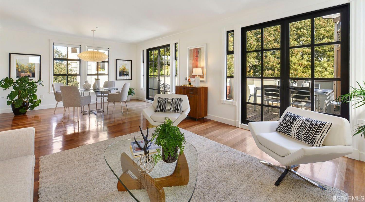 420 Stanyan - 1 bed | 1 bath | Location + Outdoor Space | $895,000