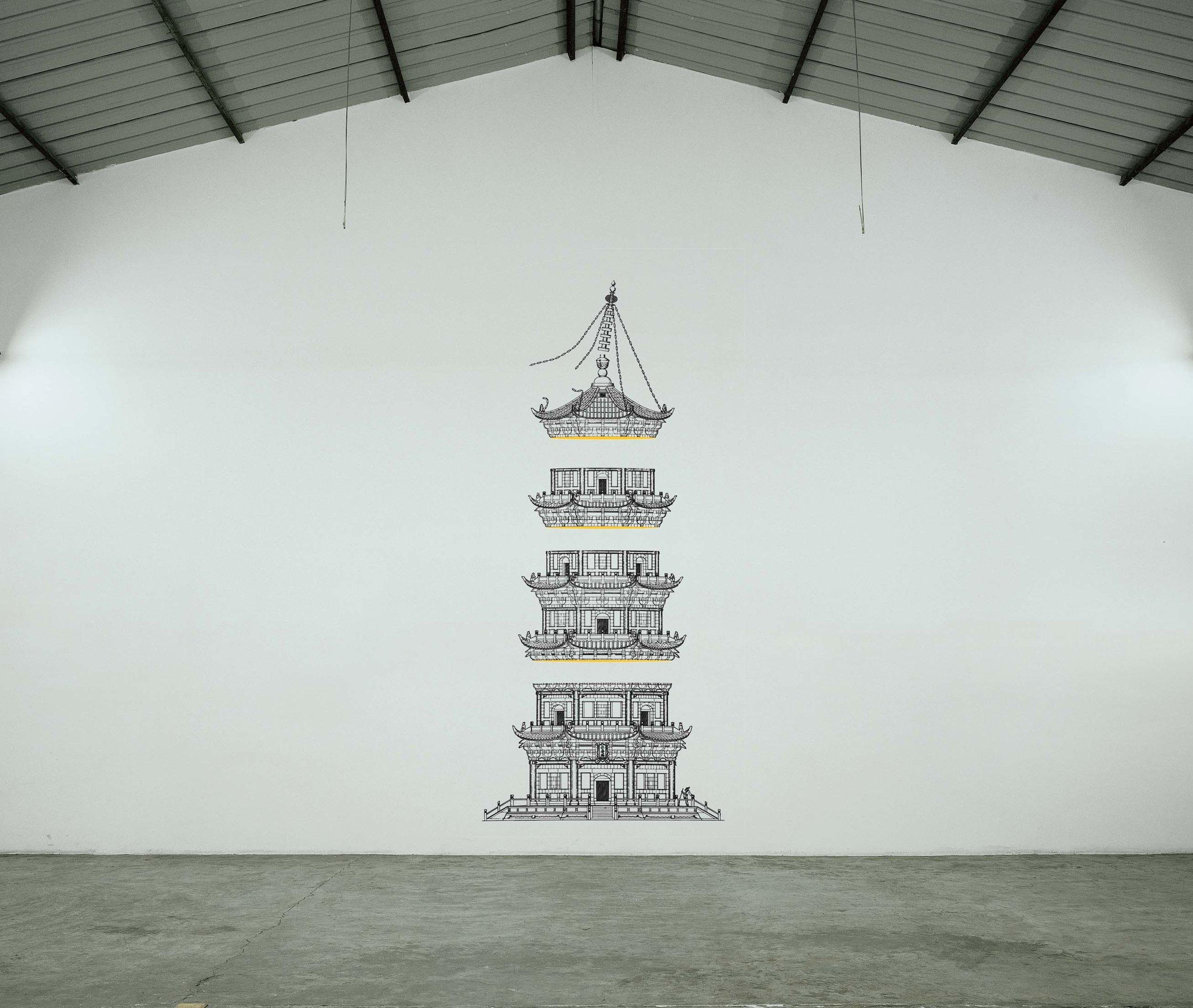 2心佛.心魔,装置,2007.jpg