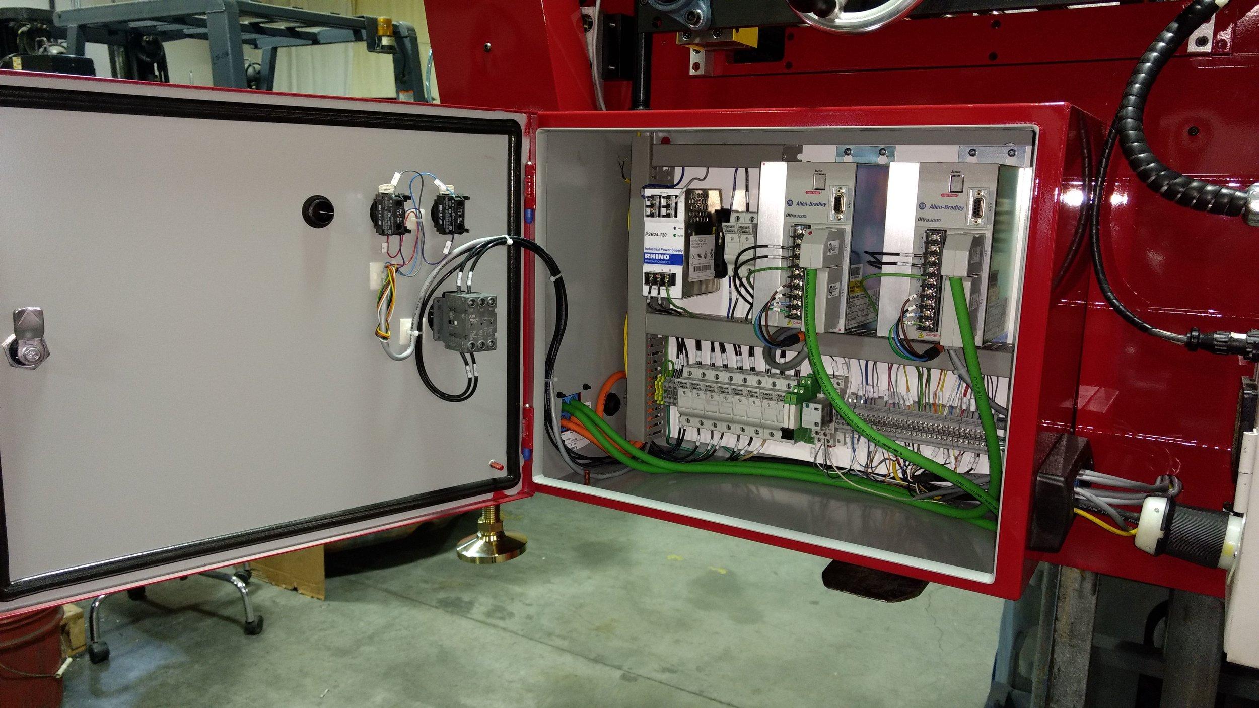 Control Panels & PLC Programming | FJR Manufacturing