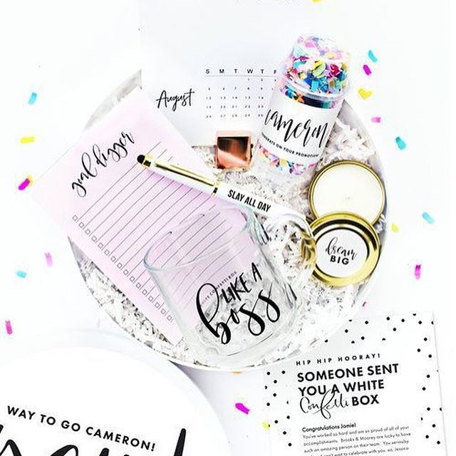 We are THRILLED to announce our next Sponsor @WhiteConfettiBox! The signature White Confetti Box is an all white, round hat-style box with your custom label applied to the lid that houses special pre-filled gifts for virtually any special occasion!  Customers rave about their White Confetti Boxes, stating that receiving one is like opening a box of magic!  And with this Florida based company being led by an all woman-owned and operated team, what's not to love?! TPS 2019 attendees and speakers will go home with special gifts from White Confetti Box, and if that weren't enough one very lucky attendee will receive a raffle prize valued at over $50!  P.S. just between us, we especially love the freebie section of their website https://buff.ly/2SZxcaX!⠀ ⠀ #BurnBright and get in on all the action at #TPS2019, we've saved you a seat at the table! Register today at WWW.PLANNERSSUITE.COM
