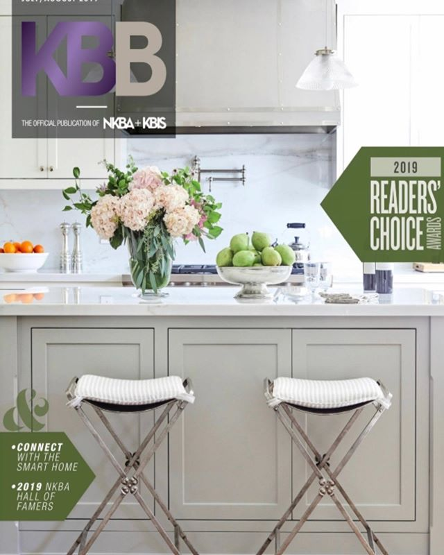 We are so excited and honored to be featured on the front cover of the latest issue of @kbb_magazine!  They detailed an amazing story on our most recent kitchen and bath remodel based in Brentwood.  Photography by @jennapeffley . . . #kbbmagazine #nkba #ladesigner #interiordesign #kitchendesign #kitchen #bathroomdesign #bathroomremodel #kitchenremodel #interiordesigner #customfurniture #style #editorial #beverlyhills #brentwood #californiadesign #lifeofadesigner #instagood #architeture #barstool #kitchenstylinginspo #losangeles #dreamkitchens #designer
