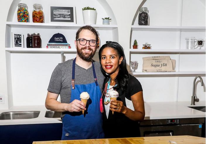 <strong>Nick Larsen & Petrushka Bazin Larsen</strong><br>Sugar Hill Creamery