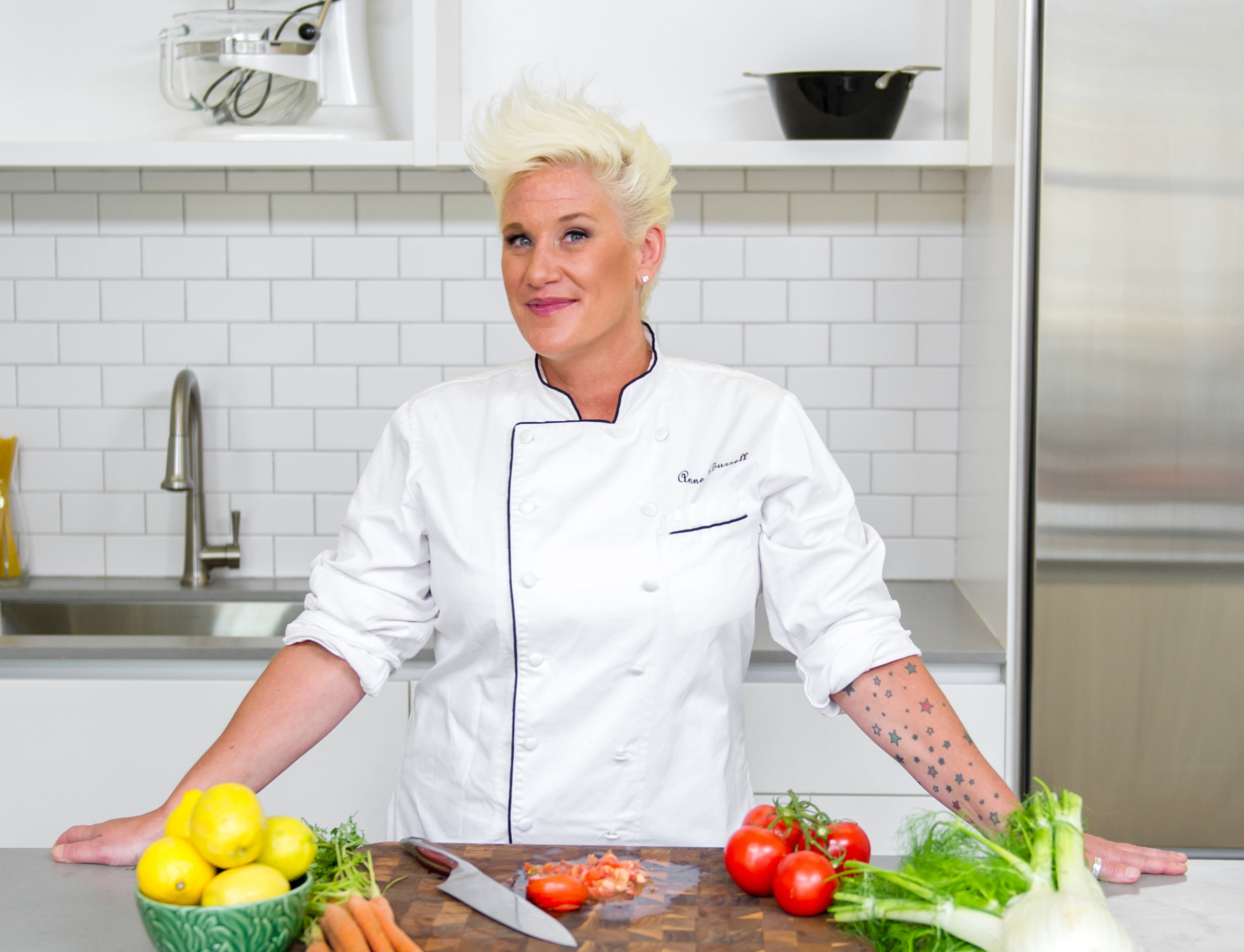 <strong>Anne Burrell</strong><br>Food Network's Worst Cooks In America