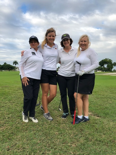 Go Girl Power, Team Halpern, First Place Woman's Foursome!
