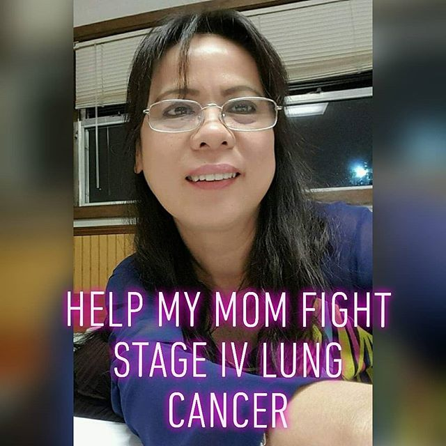 Hello InstaFam! Sorry I have not been updating much lately. These past few weeks have been really difficult for our family. My mom was recently diagnosed with stage 4 lung cancer. And in need of alot support.  If you could help with any little bit, we greatly appreciate it.  The link for donations will be in our bio. Please keep her in your prayers and spread the word. Thank you in advance.  https://www.gofundme.com/dianafightlungcancer