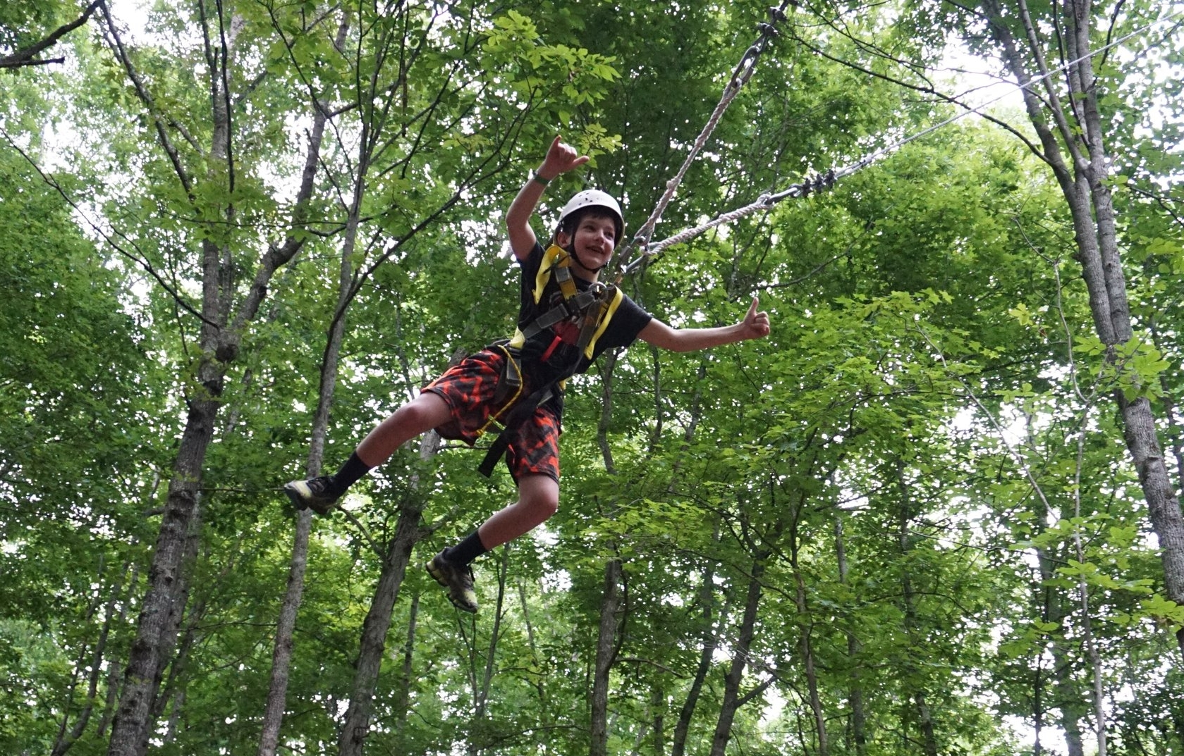 NaCoMe Christian Camp Try Something New Giant Swing