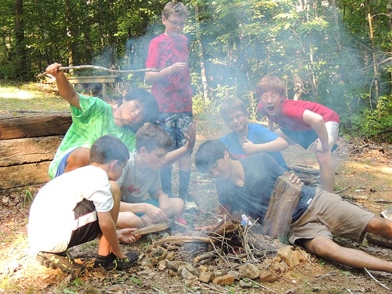 NaCoMe Camp Fire