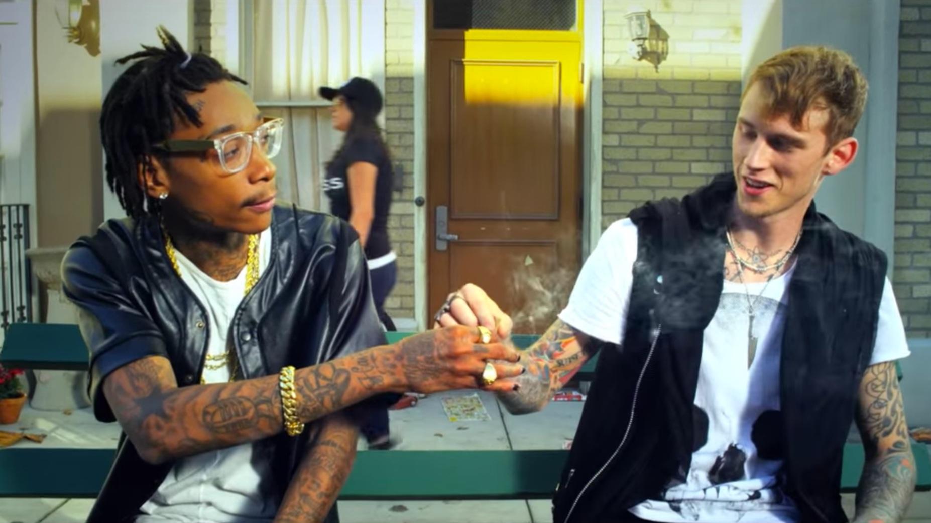 MGK ft WIz Khalifa - 'Mind of a Stoner'