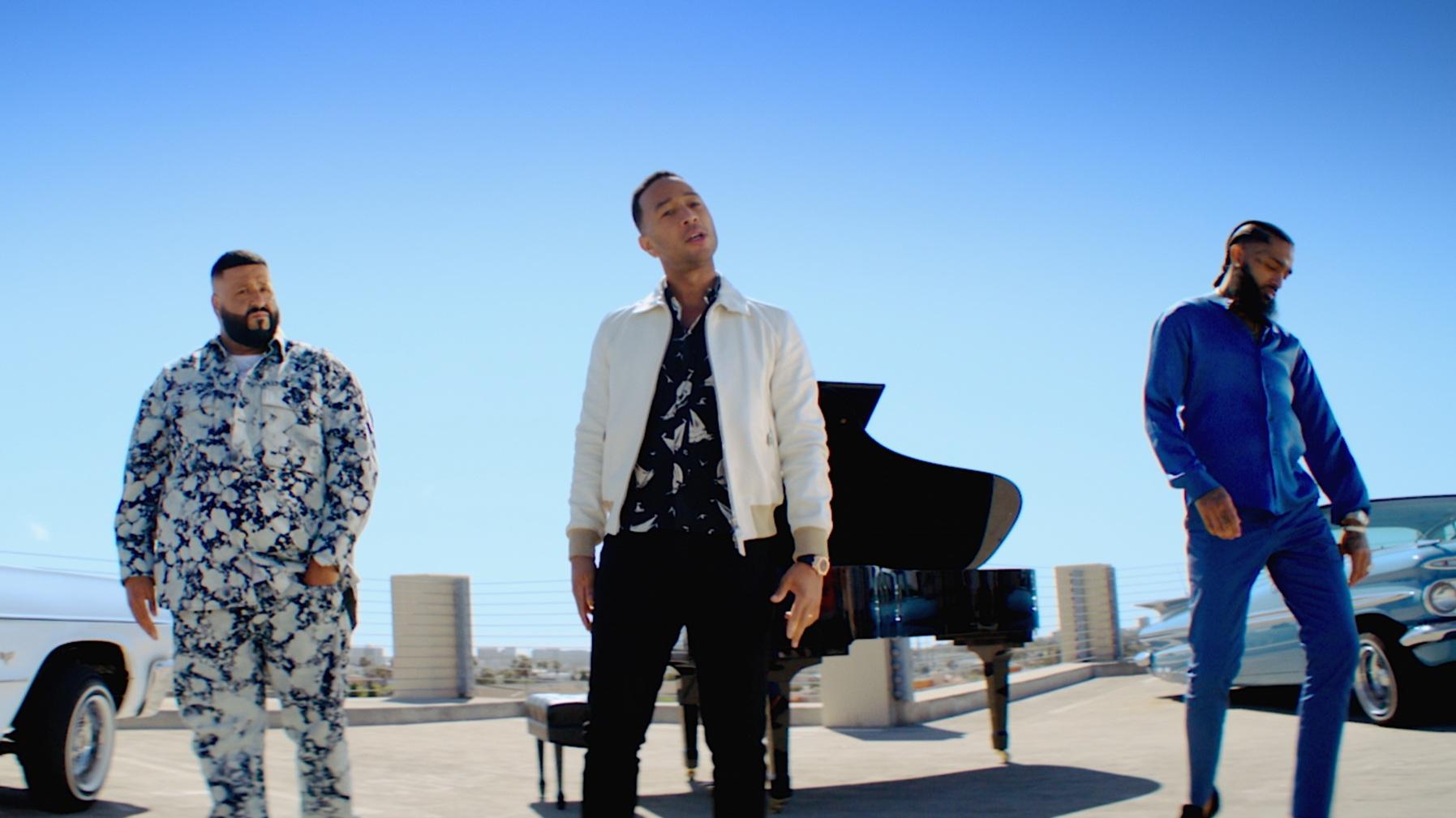 DJ KHALED X NIPSEY HUSSLE X JOHN LEGEND - 'Higher'