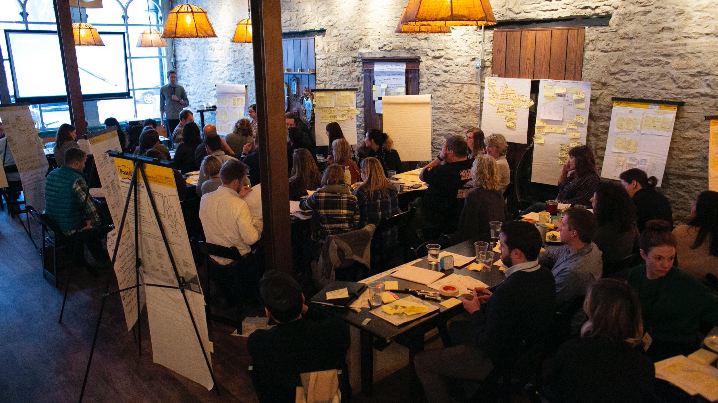 Design Sprint Bootcamp 2018: Historic Aster River Room