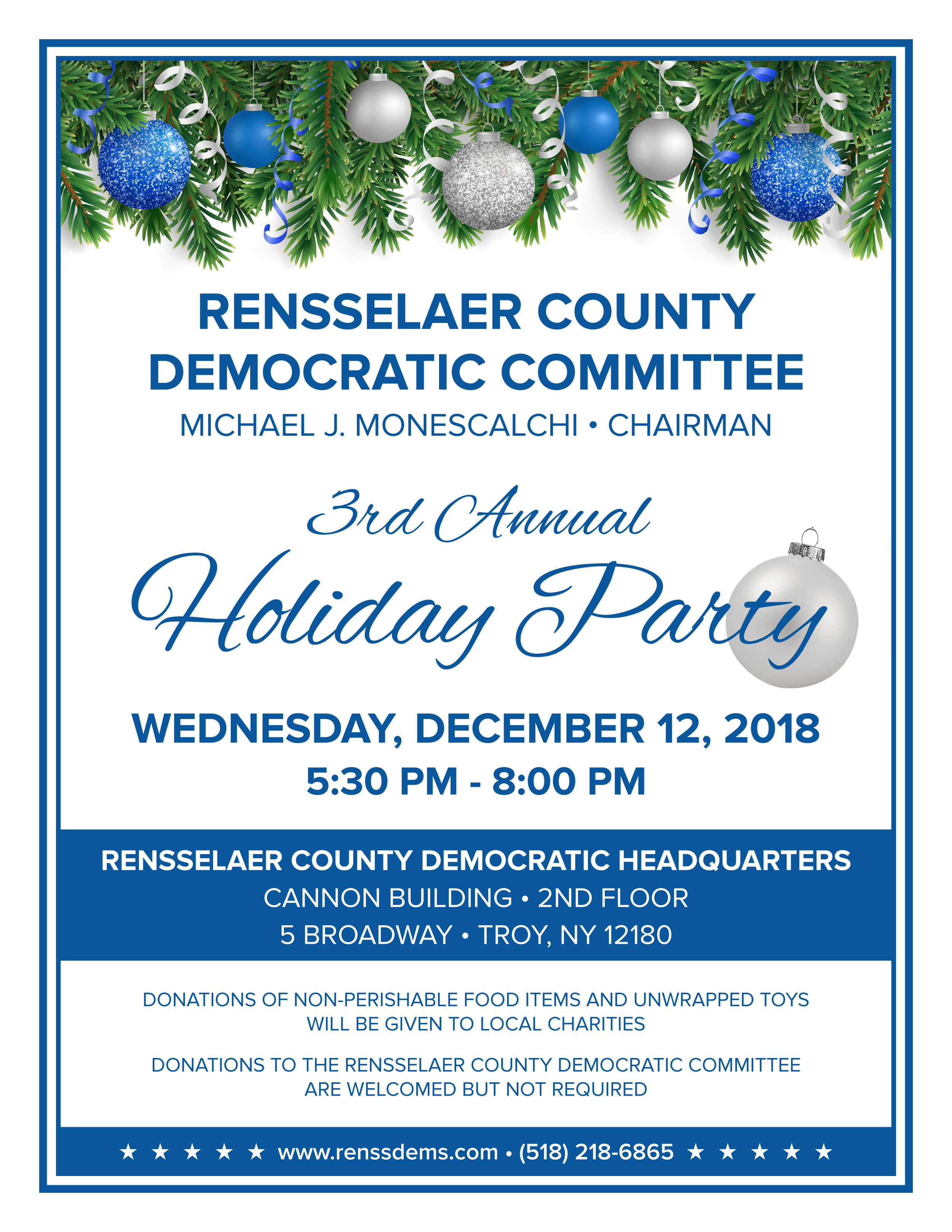 Rensselaer County Democrats 2018 Holiday Party Invitation.jpg