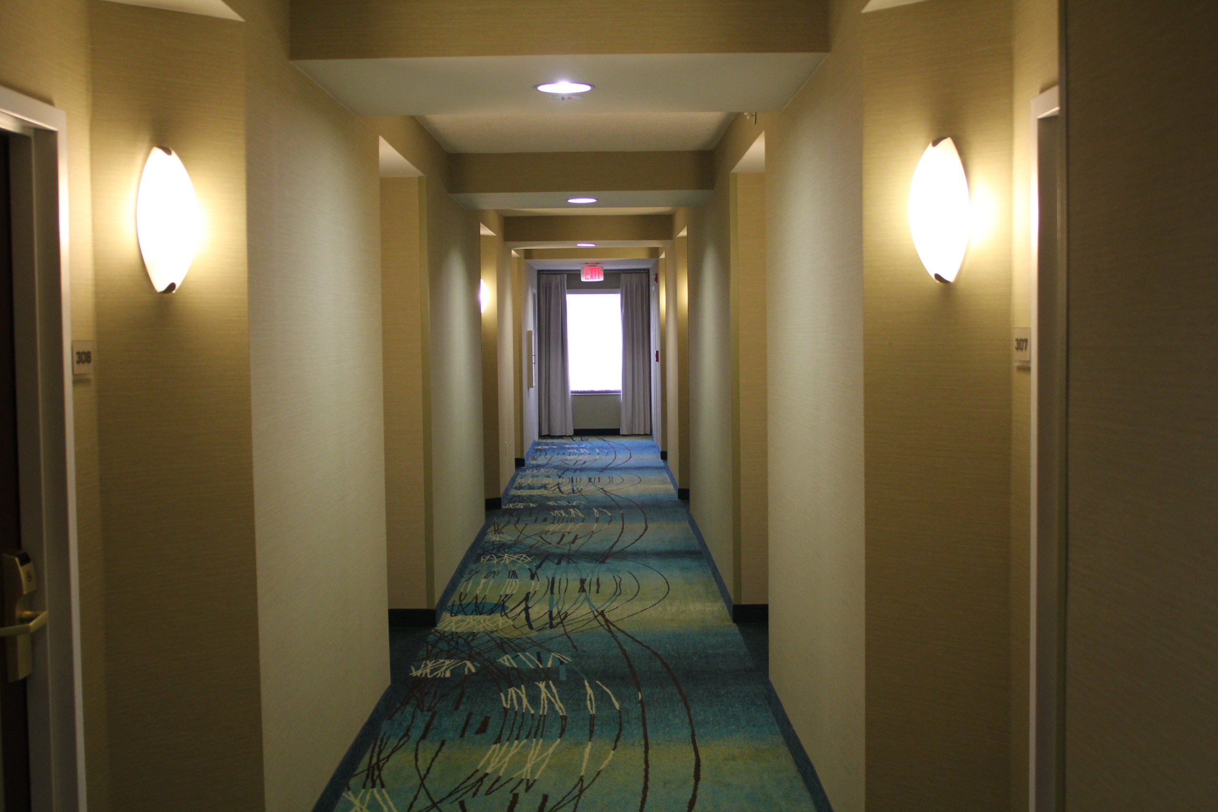 SpringHill Suites Charlotte Airport –Hallway