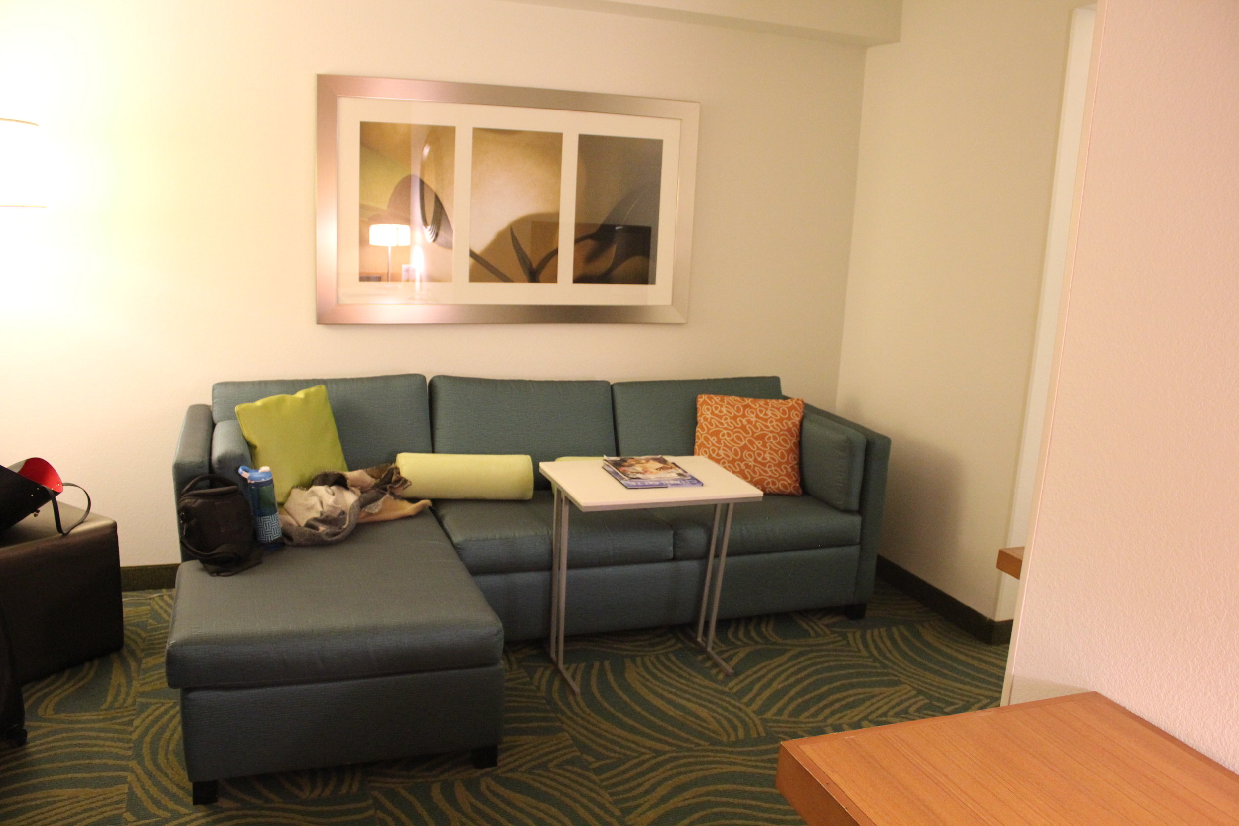 SpringHill Suites Charlotte Airport – Lounging area