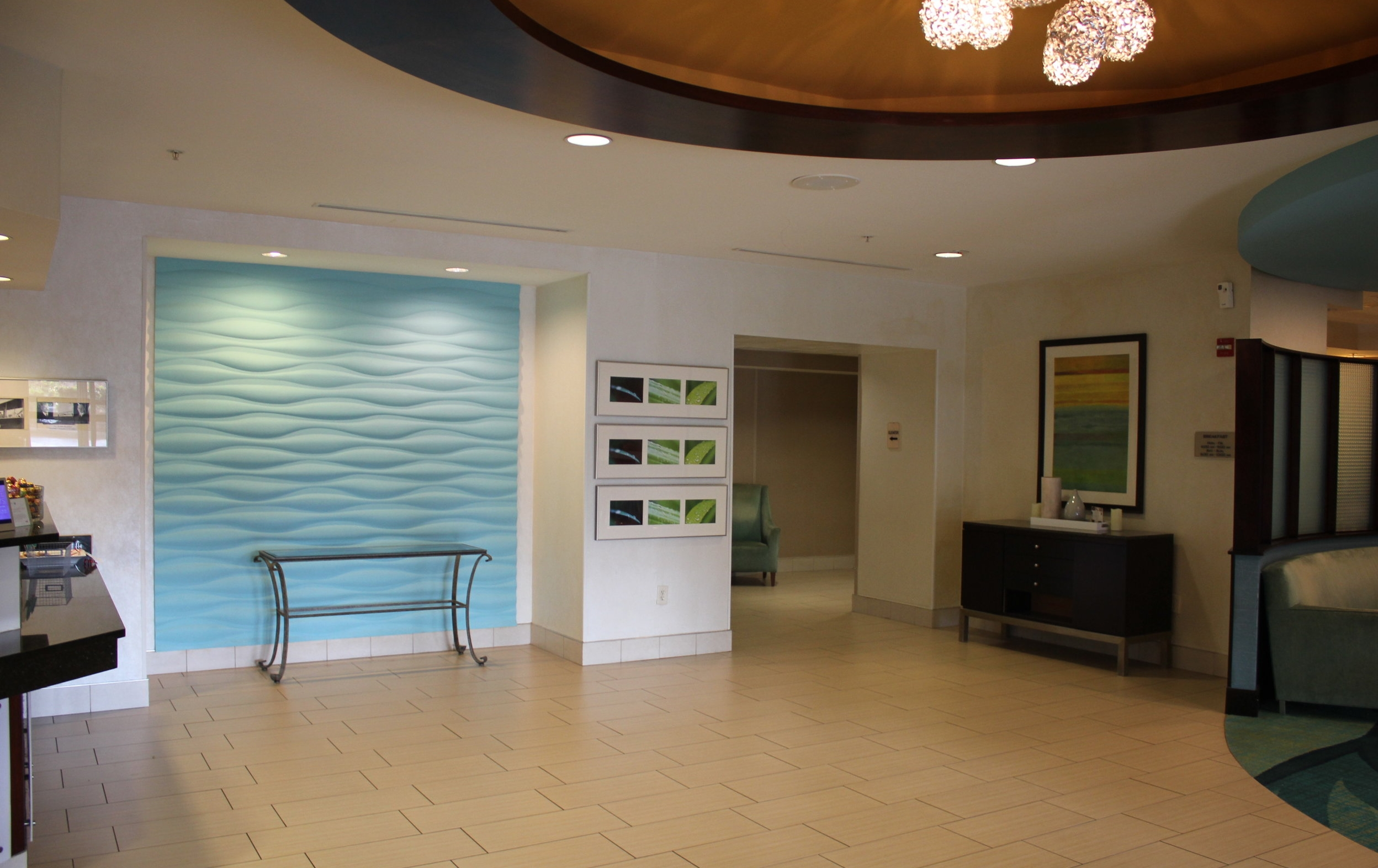 SpringHill Suites Charlotte Airport – Hotel lobby