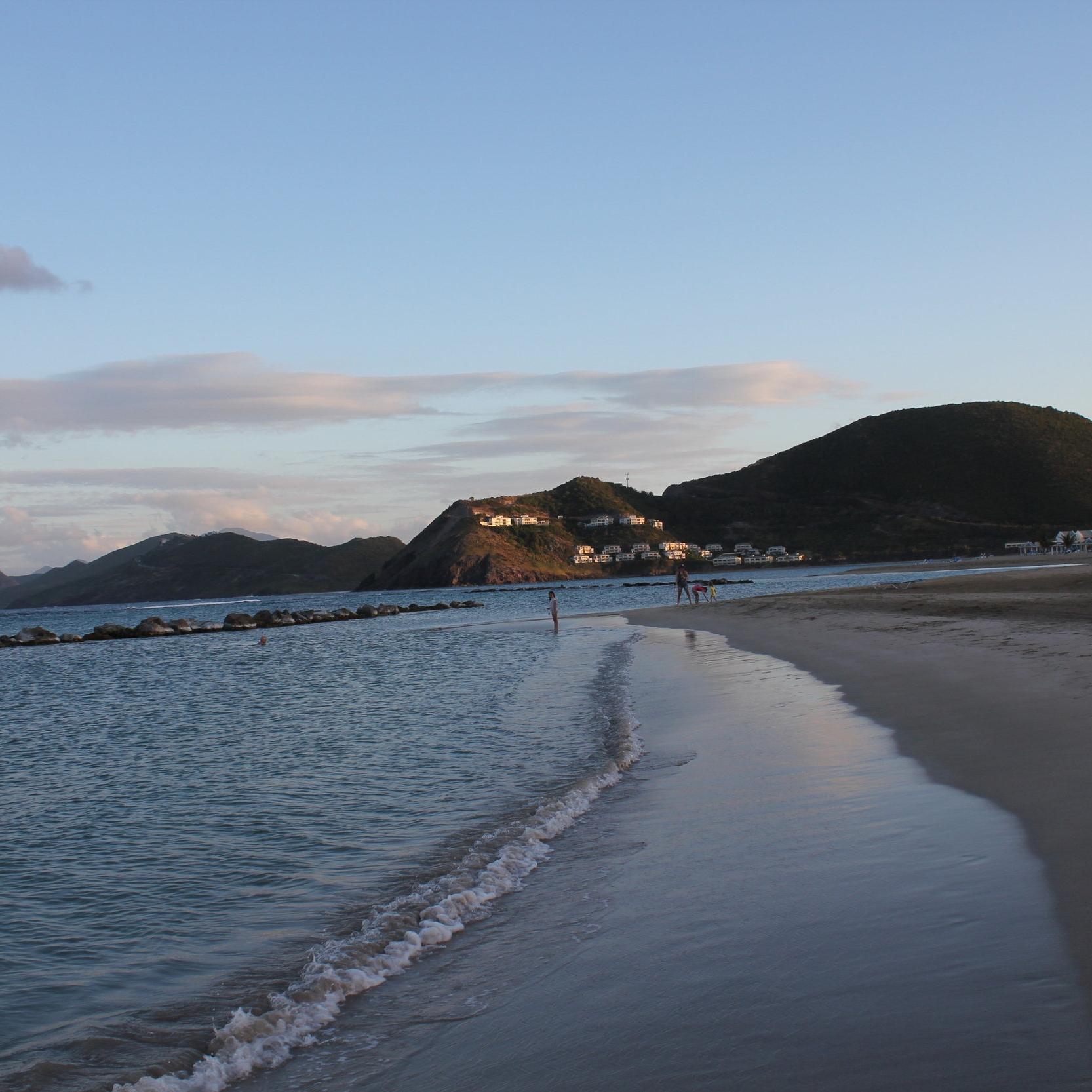 Frigate Bay beach