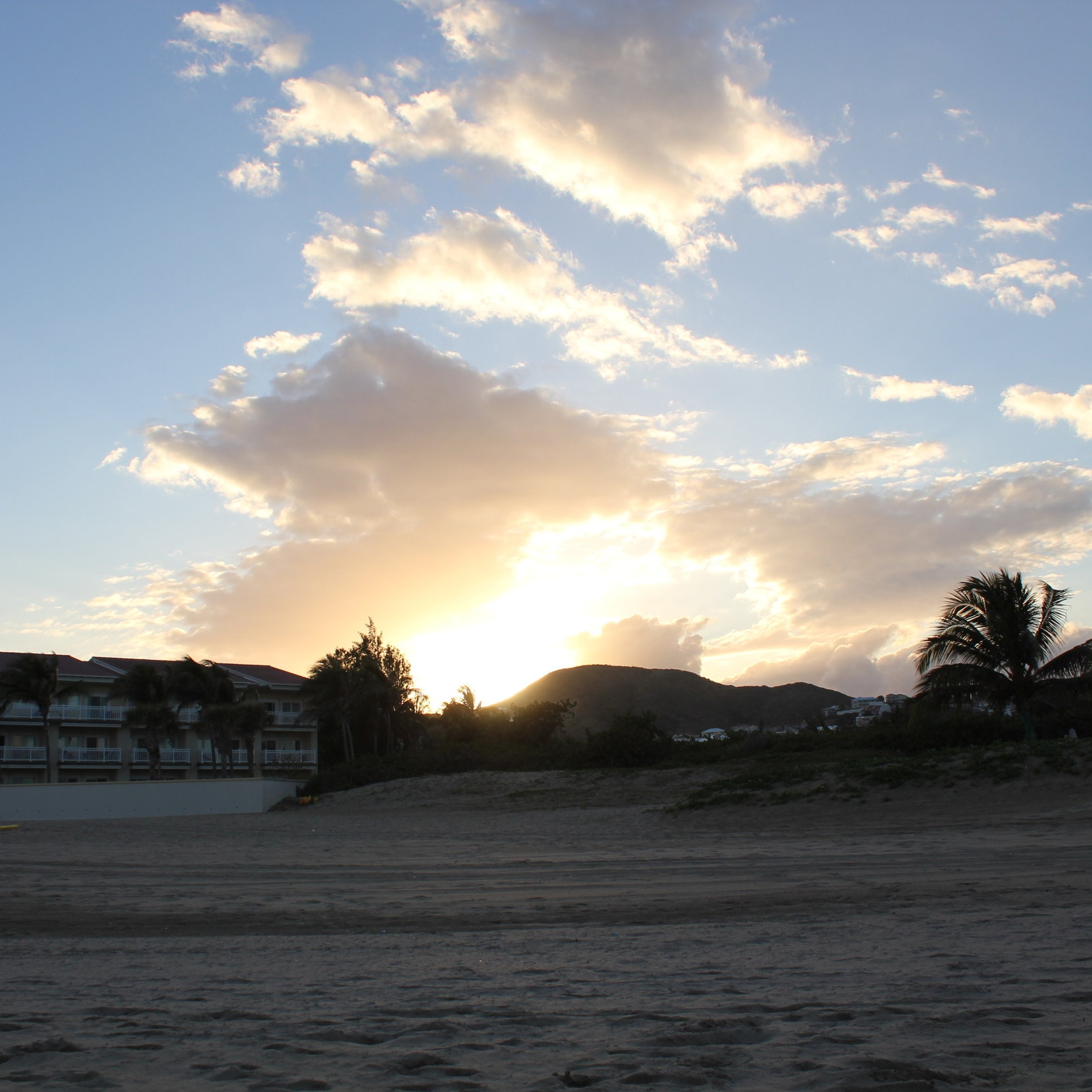 Frigate Bay sunset