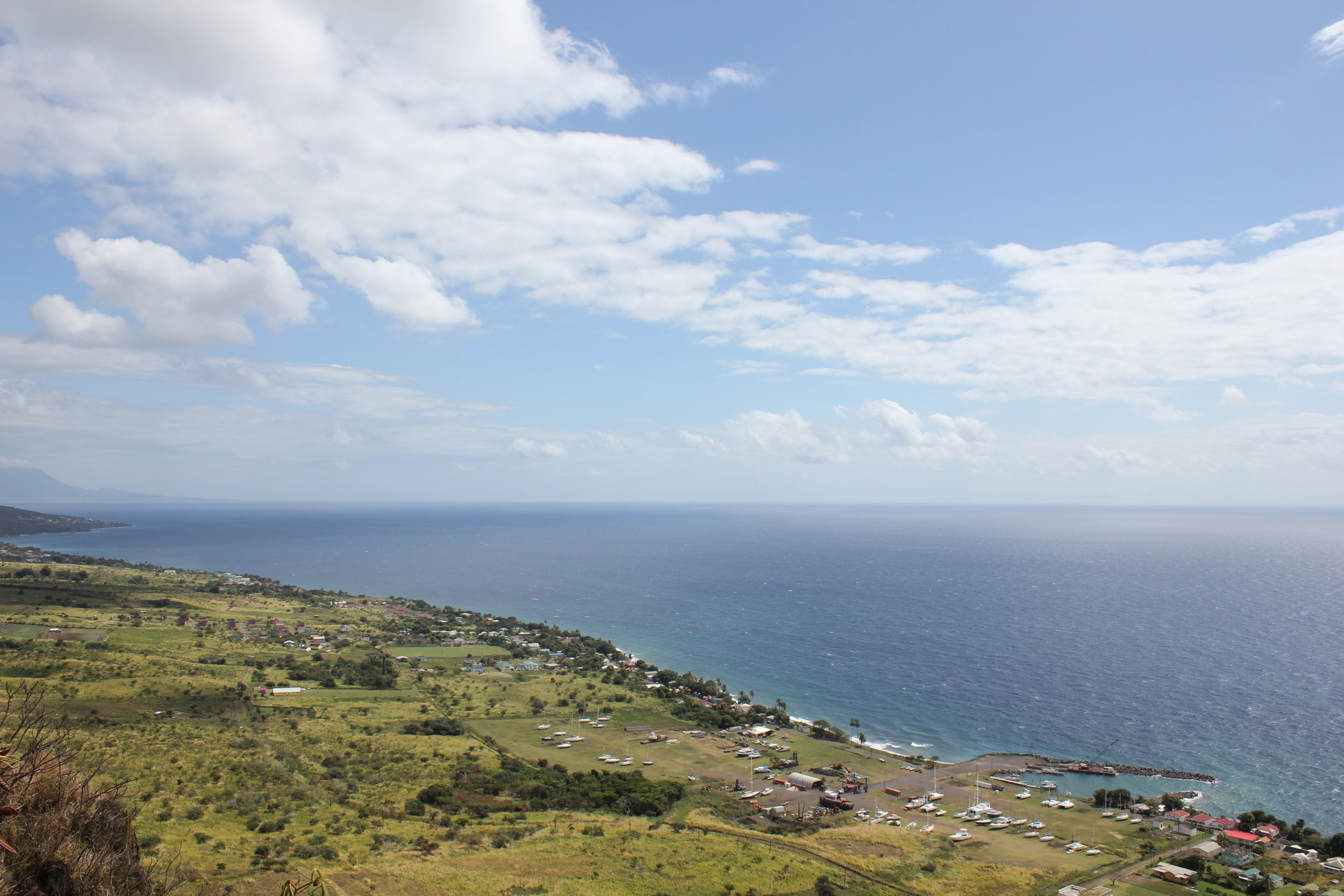 Brimstone Hill Fortress National Park – Views of Caribbean Sea